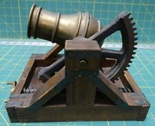 Vintage Miniature Model, Leonardo Da Vinci's 1483 Cannon Design Limited Edition
