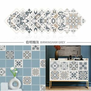 20x20 Self-Adhesive Wall Tile Decals Peel and Stick Tile Stickers Waterproof pvc