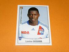 219 LAMINE GASSAMA OLYMPIQUE LYON OL GERLAND PANINI FOOT 2011 FOOTBALL 2010-2011