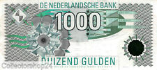 Nederland - Netherlands 1000 Gulden 1994 Kievit Pn 102 serial 1009017117