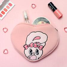 Lovely Esther Bunny Neoprene Cosmetic Pouch Hand Bag Power Bank Battery Earphone