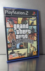 Sealed Grand Theft Auto San Andreas PS2 Brand New Case☆Renewed☆Mint☆Collectible