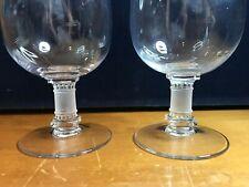 LALIQUE Crystal MURAT Cognac Glasses (2)