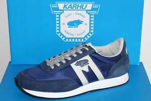 KARHU Sneaker Schnürer Halbschuh Leder Nylon - ALBATROSS Blue/Grey - Neu! Gr. 40