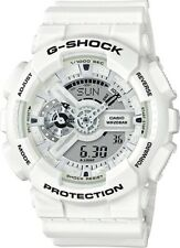 BRAND NEW CASIO G-SHOCK GA110MW-7A ANA-DIGI MENS WHITE RESIN WATCH NWT!!!!