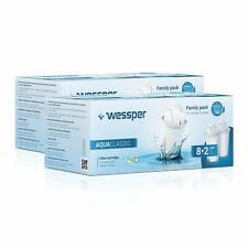 20x Wessper AquaClassic Wasserfilter für BRITA DAFI PearlCo Glas Classic WES002