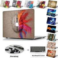 """Laptop hard Case Keyboard Skin Cover to 2018 Macbook Pro 13""""/15"""" Retina Air 13"""""""