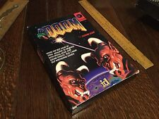 Doom 1994 US Box ID Software PC IBM Super Rare. Fine Condition