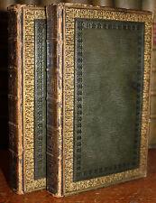1819 HUDIBRAS 2 Vols Samuel BUTLER 12 Hand Coloured Plates Fine Leather Binding