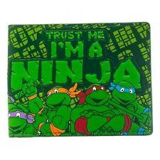 TEENAGE MUTANT NINJA TURTLES - TRUST ME I'M A NINJA BI-FOLD WALLET *BRAND NEW*