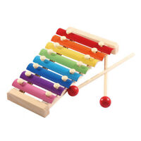 Baby Wooden Eight-tone-beating Early Education Percussion Instruments Toys