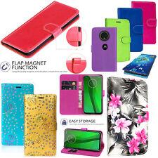 Motorola Moto G7/G7 Plus/G7/G7 Power Play PU Cuoio Portafoglio Cover Custodia Flip