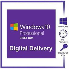 Windows 10 pro professional activation license key  Genuine  instant delivery ??