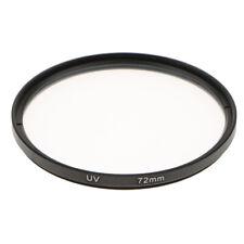 72mm Multi-Coated Glass UV Lens Filter Protection For SLR & DSLR Cameras New
