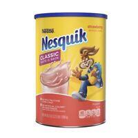 Nestle Nesquik Strawberry Flavor Powder 35.5 oz, Exp March 2022