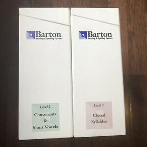 Barton Reading & Spelling System Levels 2 and 3 + 33 Separate Readers