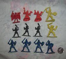 """Vtg 1983 Toyco Dungeons Dragons Fantasy Figures 2"""" Riders of the Styx Lot of 12"""