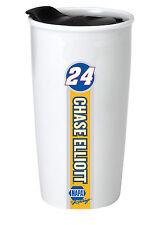 NASCAR #24 Chase Elliot 12oz Double Wall Ceramic Tumbler-NASCAR Travel Mug