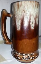 VINTAGE POTTERY  BEER CHOPE A BIERE MUG STEIN BEAUCEWARE POTERIE