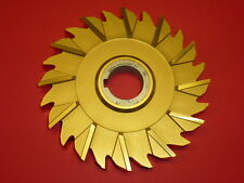 """NOS! NIAGARA SIDE STAGGERED TOOTH MILLING CUTTER, 6"""" x 5/8"""" x 1-1/4"""", TITANIUM"""