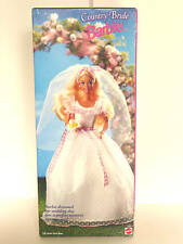 Barbie Bride Doll-Special Edition- Country Bride Barbie #13614-1994- New- NRFB