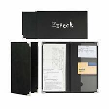 Car Registration Insurance Card Holder for Auto Truck Glove Box Console BK