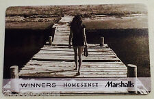 Marshalls / Winners CANADA COTTAGE LIFE collectible gilft card (NCV) FR/ENG