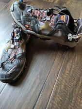 Salomon Pro Amphibian Men's Water Shoes Sport Sandals Orange/black Size 9
