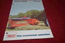 Deutz Fahr HD 460 Hay Baler Dealers Brochure DCPA2