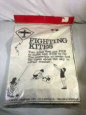 Vintage Fighting Kites Hammoco Designs LTD Stephen Savage 1972 Made In England