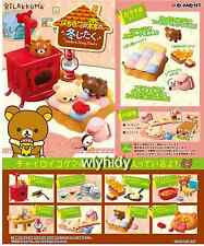 San-x Rilakkuma Relax honey in the forest of winter home - Re-ment   , #ok