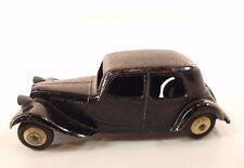 Dinky Toys F n° 24N Citroën traction version avec pare-choc rapporté repeinte