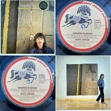 GEORGE HARRISON Somewhere In England LP 1st Press A3/B2 EX/VG 1981