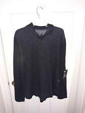 Hurley Nike Dri Fit Hoded Long Sleeve Shirt with side pocket $50