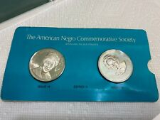 New ListingBlack Americans Silver Commemorative Medals Set Famous African Americans