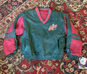 NWT Deadstock Vintage Seattle Supersonics Jacket Youth S 8 Reversible