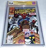 Amazing Spider-Man #356 3x CGC SS Signature Autograph STAN LEE BAGLEY Punisher