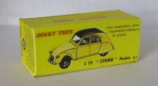 Repro Box Dinky Nr.558 2 CV Citroen Modèle 61