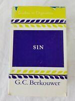 Studies in Dogmatics: Sin by G. C. Berkouwer (1971, hardcover) rare