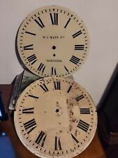 More details for antique clock dials fusee