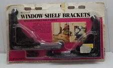 Vintage Homecraft Window Shelf Brackets With Adjustable Shelf Locks R11292