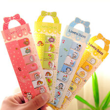 Cute Bowknot Animal Sticker Post It Bookmark Point Marker Memo Flag Sticky Notes