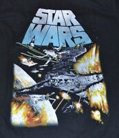 Star Wars Fighter Jet Graphic Tee Officially Licensed by Fifth Sun Mens T-Shirt