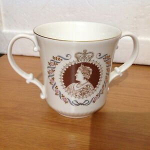 Royal Doulton Loving Cup To Commemorate The Queen Mothers Eightieth Birthday