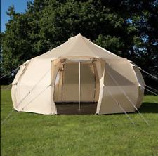 5m Luna Weekender Polyester Bell Tent - Sandstone
