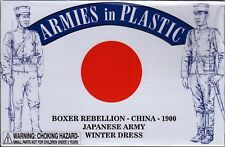 Armies in Plastic Boxer Rebellion 1900 Japanese Winter Dress 1/32 Scale 54mm