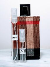 Burberry London for Men EDT Brit Rhythm Intense EDT 5ml 10ml glass atomizer