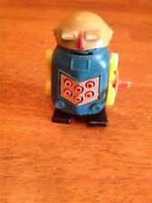 VINTAGE WIND UP TOY ROBOT....WALKS WITH LIGHTS IN MOUTH