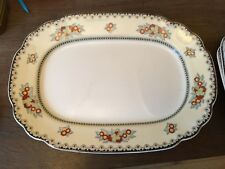 "Wedgwood Imperial Ivory ""Manchu"" Large Oval Platter Pattern No.1315"