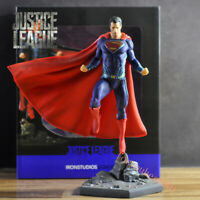 27cm IRON STUDIOS Justice League Superman Statue Action Figure Collectible Toy